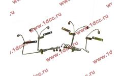 Трубки высокого давления на форсунки H2, комплект 6шт фото Россия