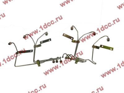 Трубки высокого давления на форсунки H2, комплект 6шт HOWO (ХОВО) 61560080278 фото 1 Россия