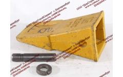 Наконечник зуба с пальцем (LG855.11 III.01-024) и шайбой (LG855.11 III.01-025) CDM 855/856 фото Россия