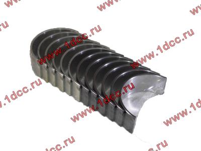 Вкладыши шатунные стандарт +0.00 (12шт) H2/H3 HOWO (ХОВО) VG1560030034/33 фото 1 Россия