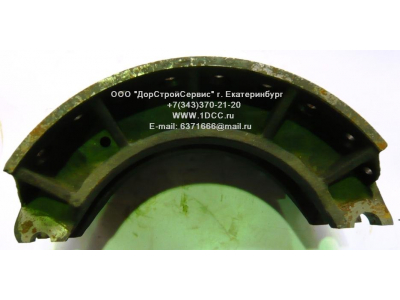 Колодка тормозная задняя (металл, без накладок) H HOWO (ХОВО) WG199000340061