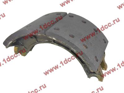 Колодка тормозная задняя с накладками H2/H3 HOWO (ХОВО) WG199000340061 фото 1 Россия