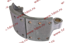 Колодка тормозная передняя с накладками (металл) H