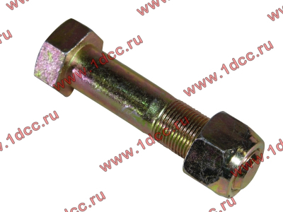 Болт M20х90 крепления нижней тяги с гайкой H2/H3 HOWO (ХОВО) Q151B2090TF2 фото 1 Россия