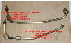 Трубки высокого давления ТНВД-рампа, комплект 2шт WP12 фото Россия
