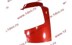 Бампер A7 красный боковая часть левая фото Россия