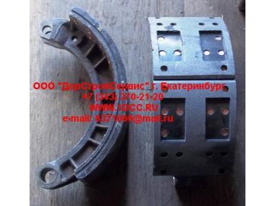 Колодка тормозная передняя с накладками в сборе (верхняя) C АКЦИЯ CAMC (КАМК) TZ3501010TSLA