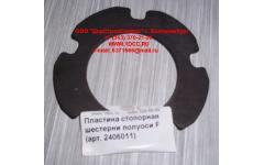 Пластина стопорная шестерни полуоси F фото Россия