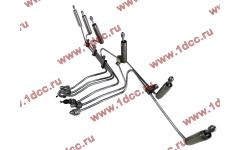 Трубки высокого давления на форсунки H3 от ТНВД H2 (переделка), комплект 6шт фото Россия