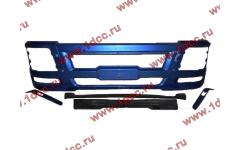 Бампер SH F3000 синий тягач фото Россия