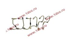 Трубки высокого давления рампа-форсунки, комплект 6шт WP10E3 фото Россия