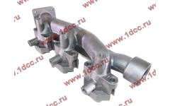 Коллектор выпускной задняя часть, двигатель WP10(336) фото Россия