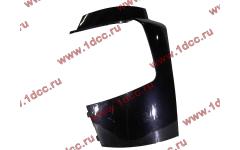Бампер A7 черный боковая часть левая фото Россия