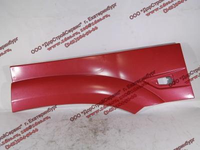 Крыло кабины со спальником красное задняя часть левая (под треугольный повторитель в конце) H3 HOWO (ХОВО)
