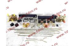Ремкомплект замков на две двери (ручки внутренние, наружные, личинки, тяги) SH F3000/SH F2000 фото Россия