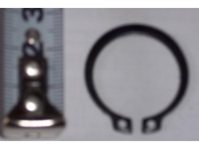 Кольцо стопорное замковое шестерни полуоси H HOWO (ХОВО) 190003933351