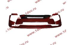 Бампер A7 красный в сборе самосвал с узкой губой фото Россия