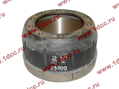 Барабан тормозной передний SH F3000 SHAANXI / Shacman (ШАНКСИ / Шакман) 81.50110.0232 фото 1 Россия