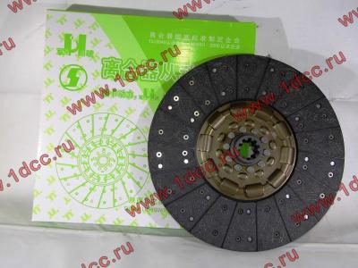 Диск сцепления ведомый 420 мм H2/H3 HOWO (ХОВО) WG1560161130