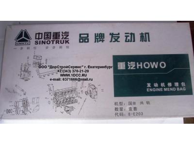 Комплект прокладок на двигатель H3 HOWO (ХОВО) WD615E3-XLB фото 1 Россия