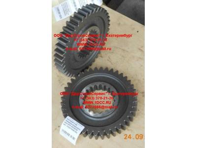 Шестерня 1-ой передачи вторичного вала КПП HW18709 КПП (Коробки переключения передач) WG2210040106
