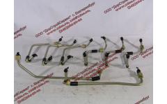 Трубки высокого давления, комплект на ДВС 8шт WP12 фото Россия
