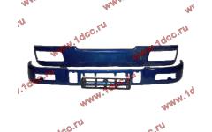 Бампер C синий верхний+нижний (в сборе) фото Россия
