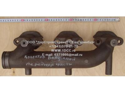 Коллектор выпускной передняя часть, двигатель WD615 H3 HOWO (ХОВО) VG1540110201 фото 1 Россия