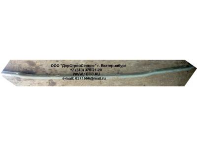 Лист задней рессоры Н.О. №01 L-1640 (изогнутый) H3 HOWO (ХОВО) WG9725520283-1