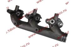 Коллектор выпускной передняя часть, двигатель WD615/WP10 SH F3000 фото Россия