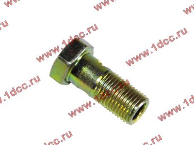 Болт пустотелый М10х1,0 (штуцер топливный) H HOWO (ХОВО) 81500070054 фото 1 Россия