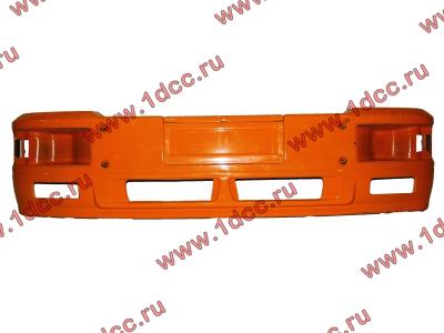Бампер SH F2000 желтый двойной металлический SHAANXI / Shacman (ШАНКСИ / Шакман)