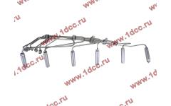 Трубки высокого давления ТНВД-форсунки, комплект 6шт D12E2 фото Россия