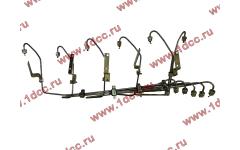 Трубки высокого давления, комплект на ДВС 6шт WP10E2 фото Россия