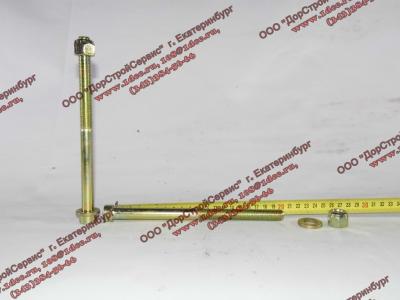 Болт центральный рессоры передней H2/H3 HOWO (ХОВО) 99100520710
