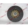 Диск сцепления ведомый 420 мм H2/H3 HOWO (ХОВО) WG1560161130 фото 2 Россия