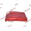 Брызговик передней оси правый H3 красный HOWO (ХОВО) WG1642230104 фото 3 Россия