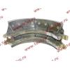Колодка тормозная задняя с накладками H2/H3 HOWO (ХОВО) WG199000340061 фото 3 Россия