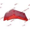 Брызговик передней оси правый H2 красный HOWO (ХОВО) WG1642230004 фото 3 Россия