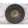 Диск сцепления ведомый 420 мм H2/H3 HOWO (ХОВО) WG1560161130 фото 4 Россия