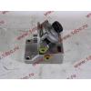 Кронштейн топливного фильтра грубой очистки (с помпой, 4 отверстия) H3/SH/F HOWO (ХОВО)  фото 4 Россия
