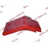 Брызговик передней оси правый H2 красный HOWO (ХОВО) WG1642230004 фото 4 Россия
